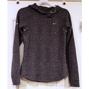 Nike gray pullover hoodie